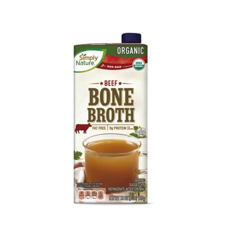 Simply Nature Organic Chicken or Beef Bone Broth