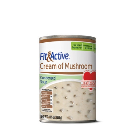 Fit & Active® Cream of Mushroom Condensed Soup