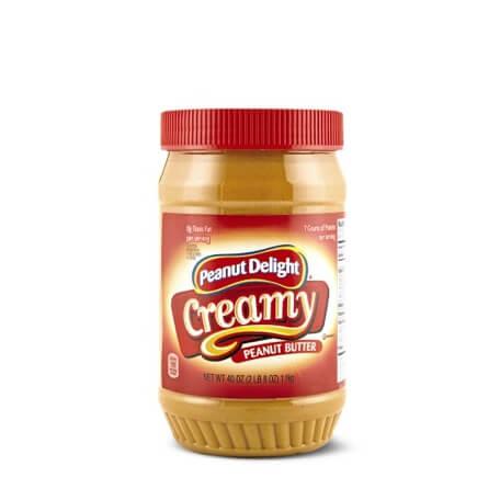 Peanut Delight Creamy Peanut Butter 40oz.