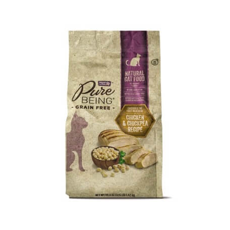 Pure Being Premium Cat Food Chicken & Chickpea or Salmon & Rice