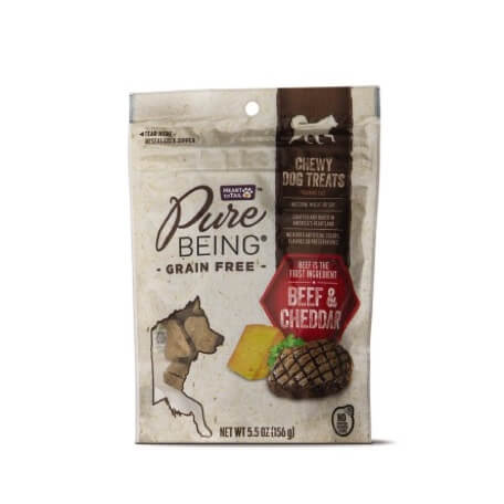 Pure Being Grain Free Treats Chicken or Beef & Cheddar