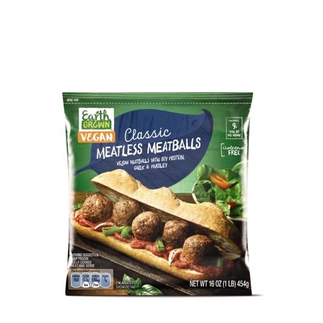 Earth Grown Classic Meatless Meatballs