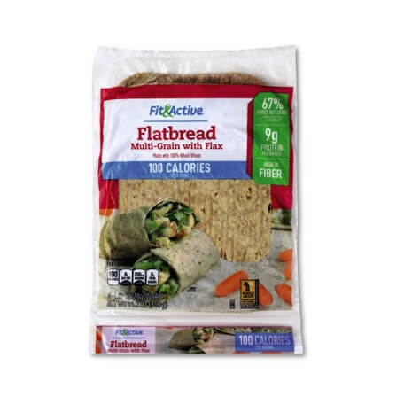 Fit & Active® Multi-Grain with Flax Flatbread