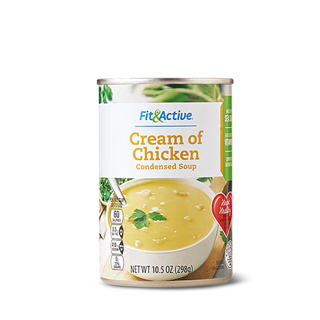 Fit Active Cream Of Chicken Condensed Soup Aldi Us