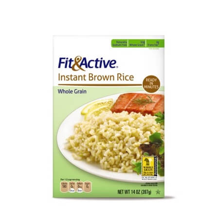 Fit & Active® Instant Brown Rice
