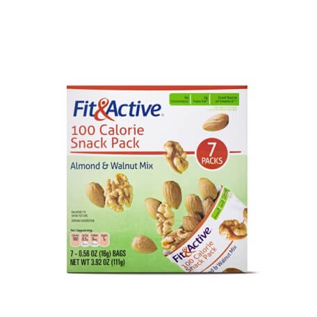 Fit & Active® 100 Calorie Snack Pack Almond & Walnut Mix