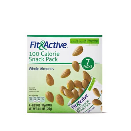 Fit & Active® 100 Calorie Snack Pack Whole Almonds