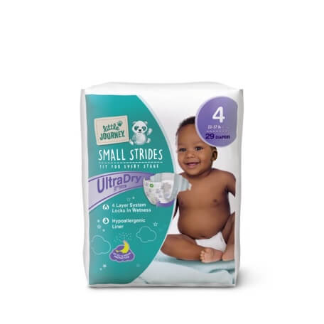 Little Journey Size 4 Diapers