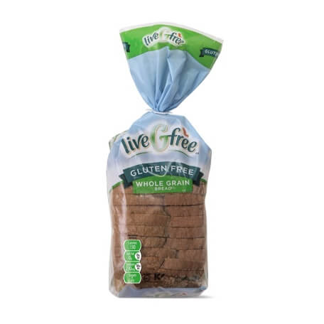 liveGfree Gluten Free Whole Grain Bread