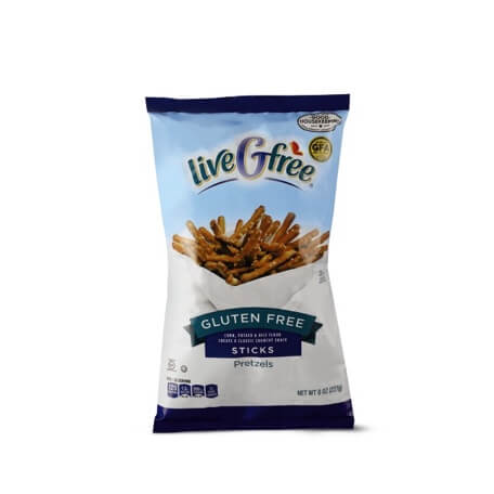 liveGfree Gluten Free Pretzel Sticks