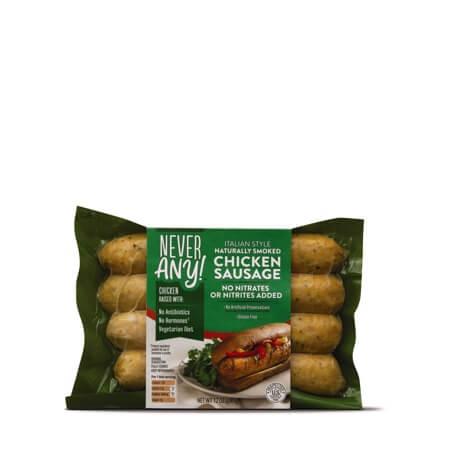 Never Any! Mild Italian Chicken Sausage