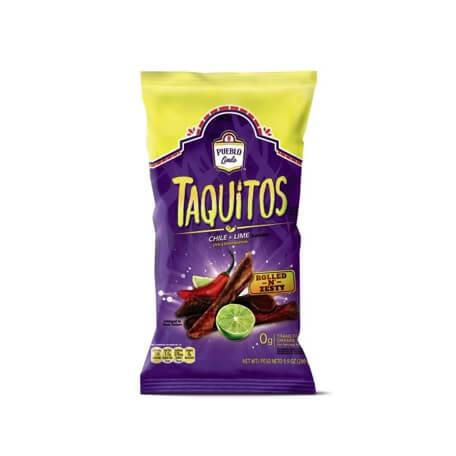 Pueblo Lindo Taquitos Rolled Chips