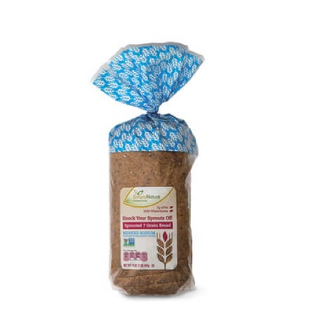 Simply Nature Knock Your Sprouts Off Sprouted 7 Grain Low Sodium Bread