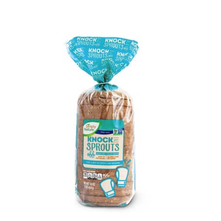 Simply Nature Knock Your Sprouts Off Sprouted 7 Grain Bread