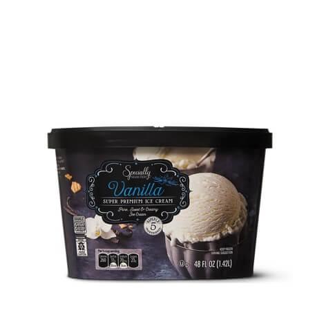 Specially Selected Super Premium Vanilla Ice Cream