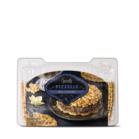 Specially Selected Vanilla Pizzelle Cookies