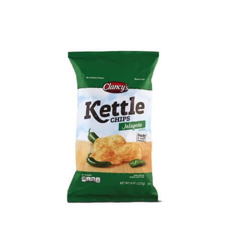 Clancy's Original or Jalapeno Kettle Chips
