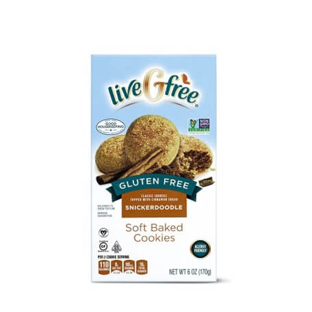 LiveGfree Gluten Free Soft Baked Cookies Assorted Varieties
