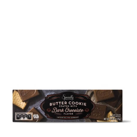Specially Selected Dark Chocolate Coated Butter Cookies