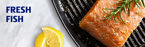 Shop fresh fish.