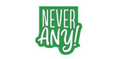 Never Any! Logo