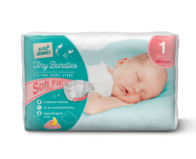 Little Journey Size 1 Diapers