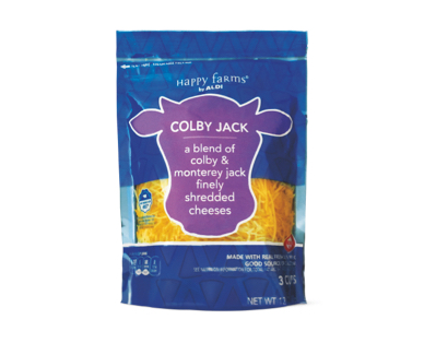 Happy Farms Colby Jack Shredded Cheese