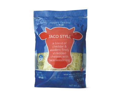 Happy Farms Taco Style Shredded Cheese