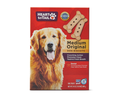 Heart To Tail Medium Dog Biscuits