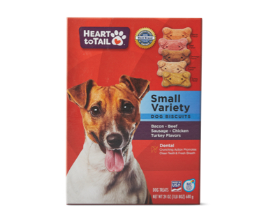 Heart To Tail Small Dog Biscuits