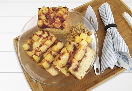 Pineapple Upside-Down Bread