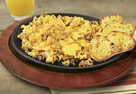 Quick and Easy Morning Scramble