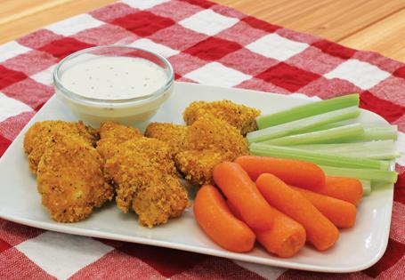 Ranch Corn Flake Chicken Nuggets