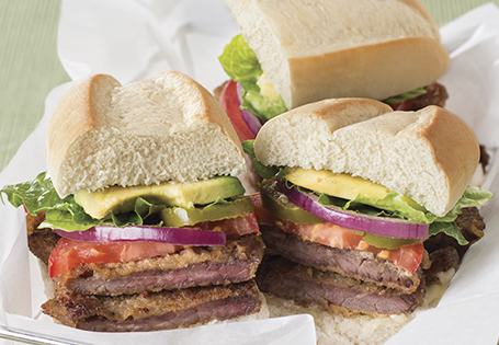 Torta: Steak Sandwich