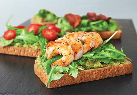 Avocado Spread Sandwich