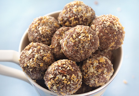 Chocolate Toffee Ice Cream Truffles