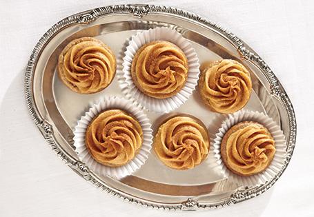 Cinnamon Quinoa Cupcakes with Pumpkin Frosting