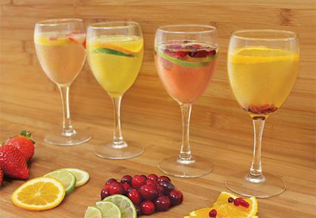 Four Seasons White Wine Spritzer