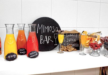 Mimosa Bar Recipe