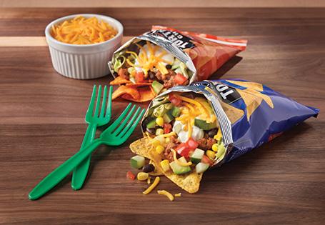 Rainbow Taco Salad