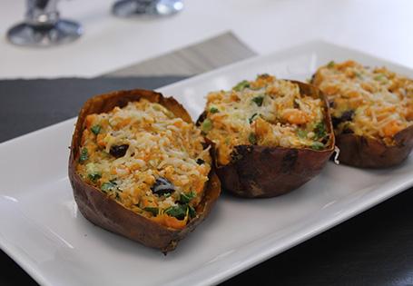 Super Stuffed Sweet Potatoes