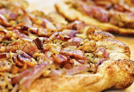 Bacon And Caramelized Onion Tart Recipes — Dishmaps