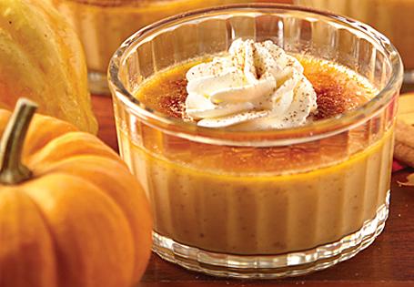 Homepage Recipes Desserts Puddings & Parfaits Pumpkin Crème Brûlée