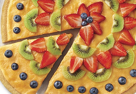 Sherbert Fruit Pizza