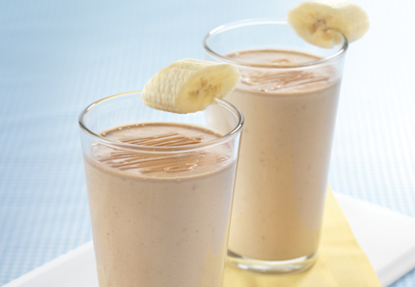 Image result for banana peanut milkshake