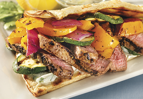 ... Recipes Summer Recipes Grilling Grilled Mediterranean Sandwich