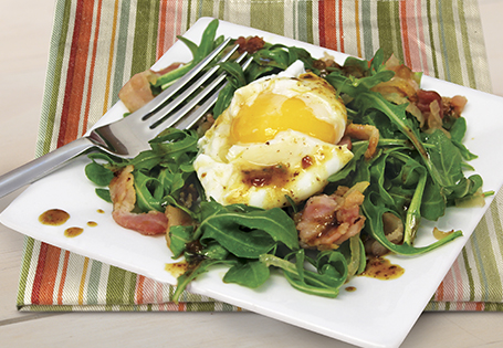 Warm Bacon and Egg Salad