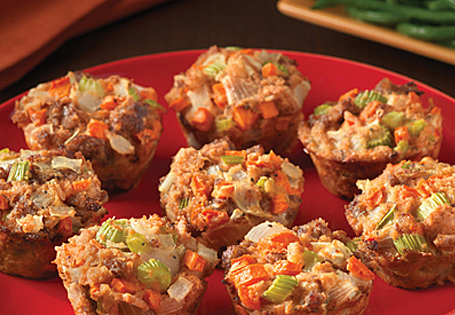 Italian Sausage Dressing Cups