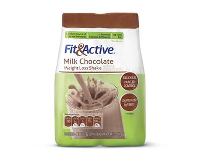 Fit and Active Milk Chocolate Weight Loss Shake