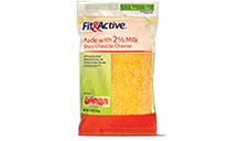 Fit and Active 2% Milk Sharp Cheddar Shredded Cheese. View Details.